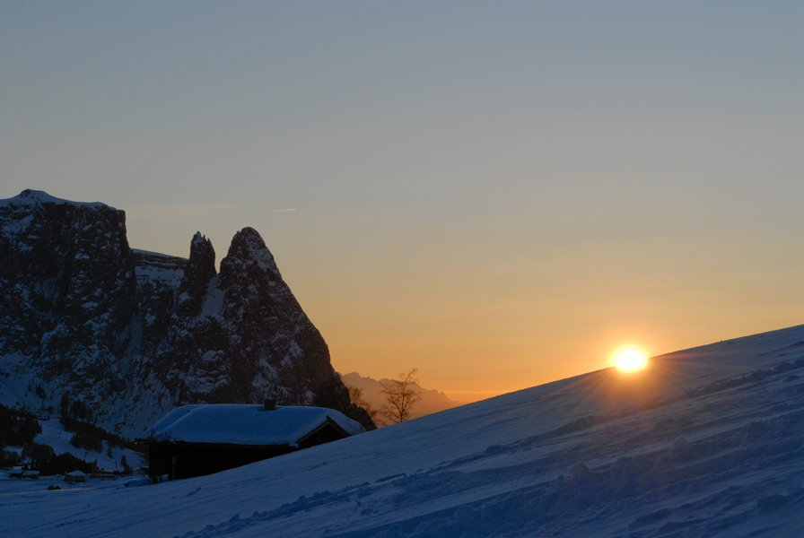 Winter Magic on the Alpe di Siusi