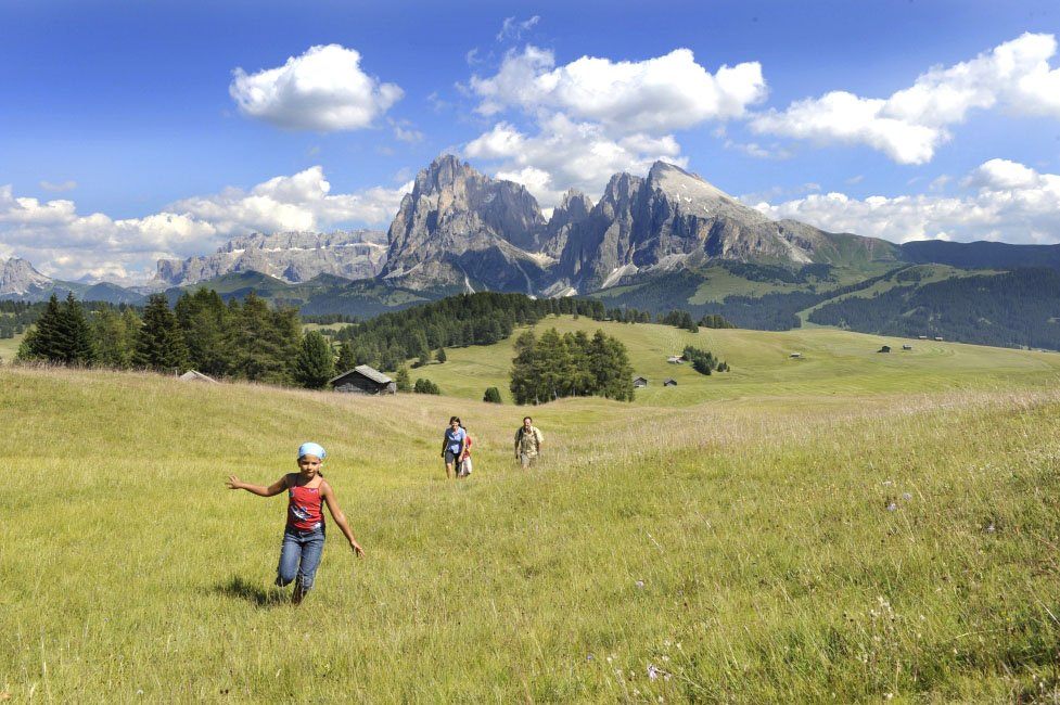Summer holiday in the Dolomites: nature pleasure in the UNESCO world heritage natural site